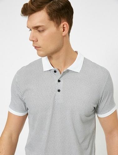 Koton Polo Yaka T-Shirt Beyaz